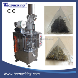60 bags/min automatic volume cup triangle nylon tea bag packing machine
