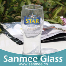 Hot Sale 594ml Advertising Logo Clear Wholesale Glassware, Wholesale Cheap Glassware Cup