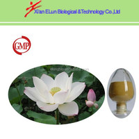 100% pure nature blue lotus leaf extract powder