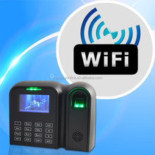 Touched keypad, semi waterproof fingerprint time attendance support Auto status
