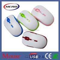 2015 Popular 2.4GHz optical wireless mouse with micro receiver, laptop mice
