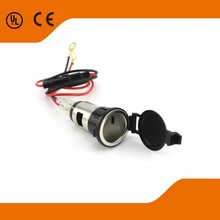 2015 High quality car/motorcycle power outlet with fuse wire