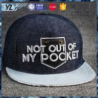 New and hot different types large snapback hat reasonable price