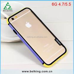 For iPhone 6 Silicon Bumper, Soft Silicon Bumper Case for iPhone 6, for iPhone 6 Bumper Frame Case