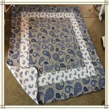 75g microfiber patachwork quilt microfiber patchwork quilt cover