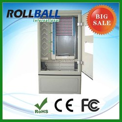 Low cost optical cross connect 288 core insert plc from smc