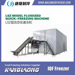 Good Quality Soybean freezer for vegetables and fruits