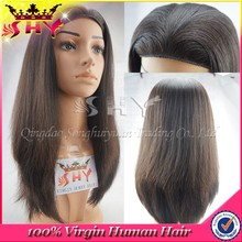 wholesale high quality 100% human hair band fall wig