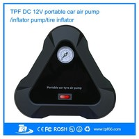 TPF new portable hand car mini electronic small air compressor air pump for cars