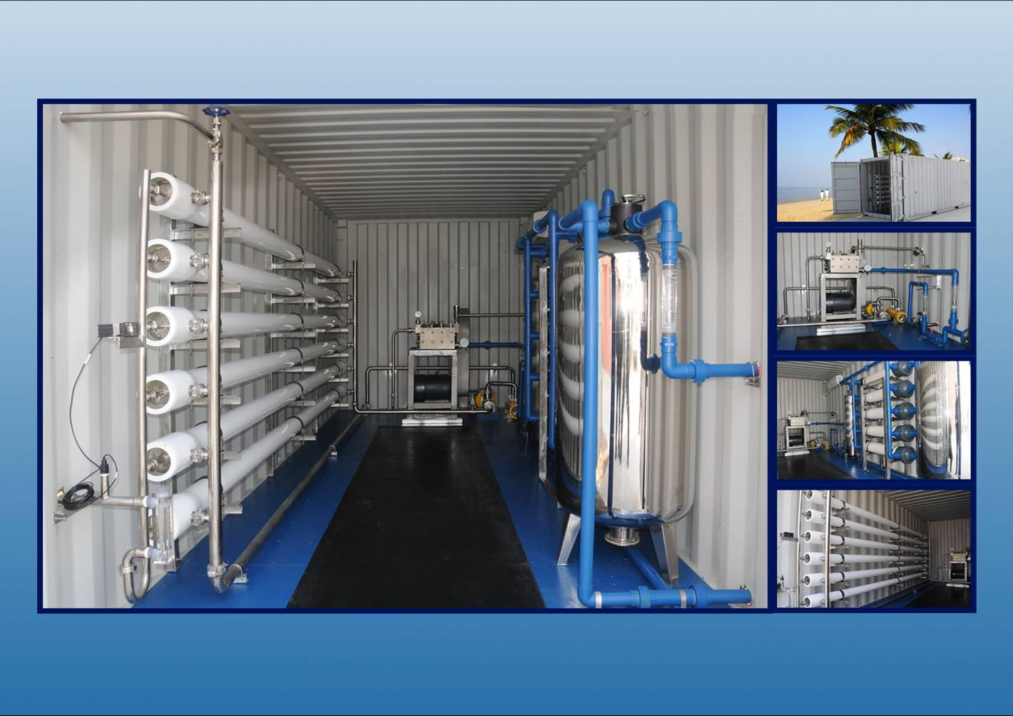 Seawater Desalination Containerized Water Treatment Plant