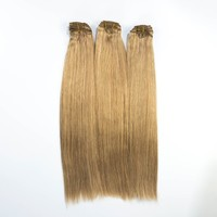Cheap Factory Price Unprocessed 100% Natural Full Head Clip In Hair Extensions Free Sample