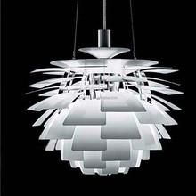 fancy Decoration Modern Pendant Light Aluminium Metal Artichoke Lamp Hanging Pendant Lighting