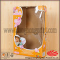 Quente- venda dobrável doll caixas de embalagem para a boneca barbie e brinquedo dh1053#
