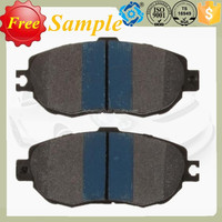 Car Disc Brake Pad D612 For Peugeot