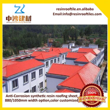 Saudi Arabia building materials Resin color decorative roofing tiles