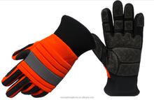 Oil field work heavy duty glove non slip Oil and gas heavy duty glove impact Oil resistant heavy duty glove
