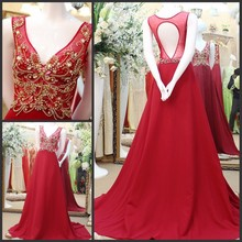 Real Sample Wedding and Evening Dress For Young Girls A-line Sequins Crsytal