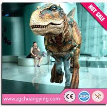 amusement park adult walking dinosaur costume for jurassic park