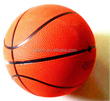 cheap inflatable rubber basketball factory in China