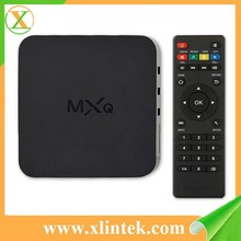 best Android Tv Box mxq wifi tv smart box hd live tv box preinstall kodi 14.2 full loaded