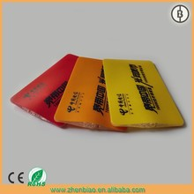 mini fashionable and promotional gift item pvc card light with led light