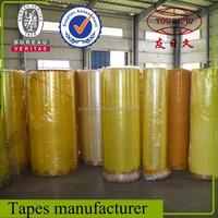 High quality bopp film/ factory price jumbo roll bopp