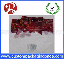 Zip Lock Bottom Gusset Fruit Vegetable Package Vegetable Fruit Packaging