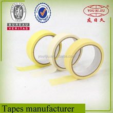 industrial adhesive tape color automotive car masking tape from China