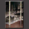 Handmade Modern Abstract cityscape Oil painting on canvas
