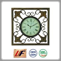 Best Selling Brand New Vintage Style Customized Design Square Table Clock