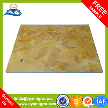 Hardness up to 3H-6H Easy cleaning black marble tile with white veins