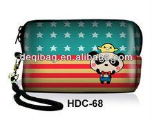 Flag style Panda Neoprene Soft Bag Case Cover Sleeve pouch skin holder