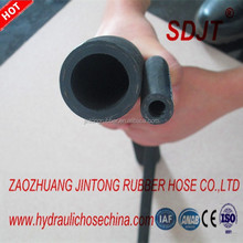 SINGLE WIRE BRAID,TEXTILE COVERED HYDRAULIC RUBBER HOSE SAE100 R5