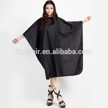 2015 Durable custom cape / alta gama accesorios para el cabello / corte de pelo del cabo cabo negro