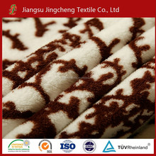 100% polyester super soft good hand feeling textile fabric Coral fleece and Flannel fleece