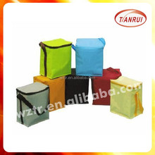 thermal lined cooler/ice bags for hot and cold thermal bag