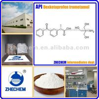 API Dexketoprofen trometamol 156604-79-4 C16H14O3.C4H11NO3