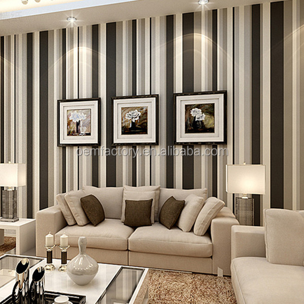 Living Room Striped Korean Designer Wallpaper Buy Designer Wallpaper Korean Wallpaper Striped