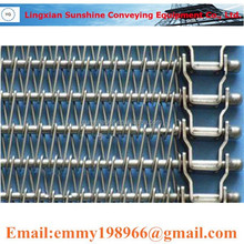 Chain Drive Spiral Conveyor Belt for Freezing, Cooling Industry food conevying