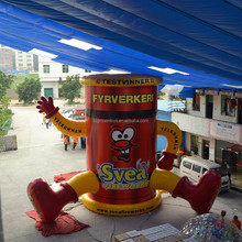 2015 hot advertising inflatable advertising model