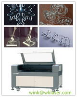 acrylic laser cutter machine /greeting card printing machine LC1290 comply with CE FDA