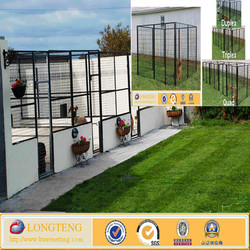 5 x 10 x6 ft outdoor large metal dog kennels mesh