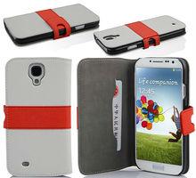 Lujo Alta Calidad Teléfono Móvil El caso del tirón para Galaxy S4