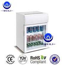75L energy drink Desktop mini display fridge coolers