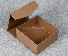 Special diecut paper gift packaging boxes , Paper material magnetic box