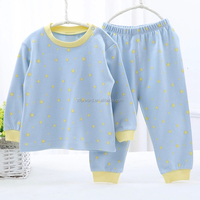 Toddler Baby Girl Blue Autunm Long Sleeves Casual Clothing Set
