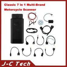 Classic 7 in 1 Multi-Brand Motorcycle Scanner Motorbike Repair Diagnostic Tool