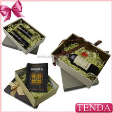 2014 Latest Design red wine paperboard boxes glass storage wine box