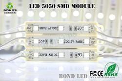 waterproof high brightness 5050 3 led led module Prefabricated Houses led advertising board