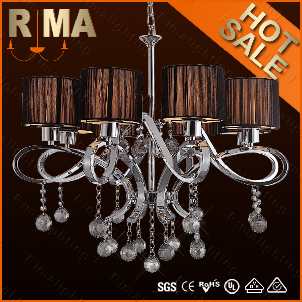 2015 Modern style hot sell crystal chandelier RM9038-8 for home decoration